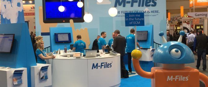 M-Files Messestand