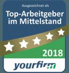 Siegel Top Arbeitgeber 2018