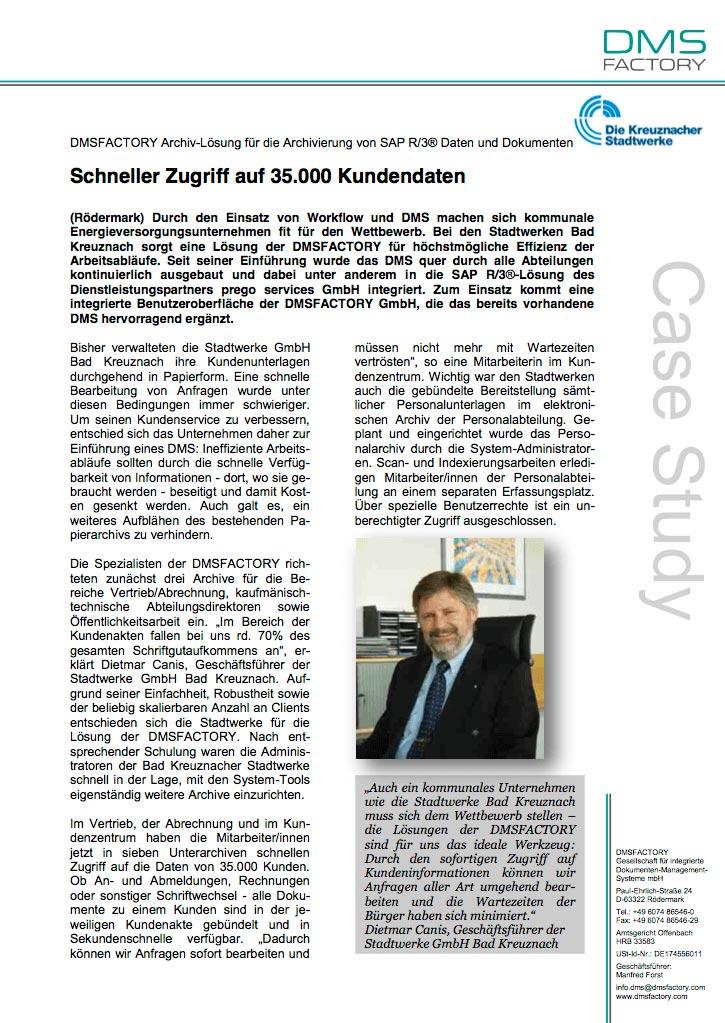 Fallstudie Bad Kreuznacher Stadtwerke