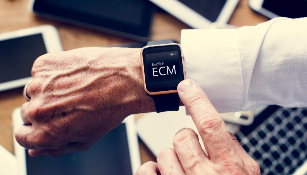 Zeit für ECM - Deutschland digitalisiert