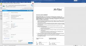 Automatisches Ausfüllen von Vorlagen auf Basis von Metadaten