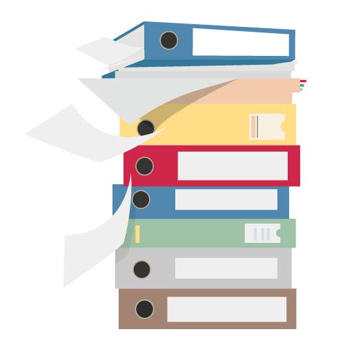 Papierstapel ade - hallo papierloses Büro