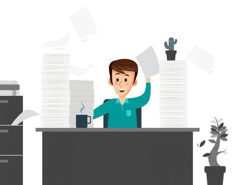 So beenden Sie die Papierstapel im HR