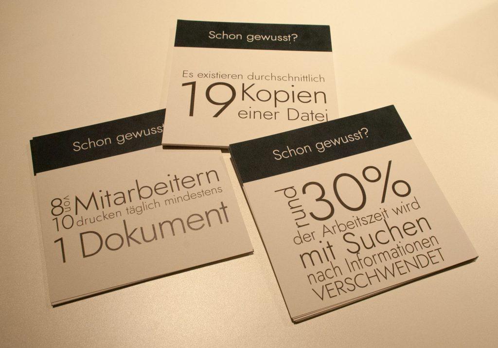 "Postkarten unserer ""Schon gewusst?""-Reihe"