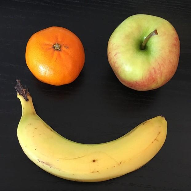 Jede Woche gibt es frisches Obst