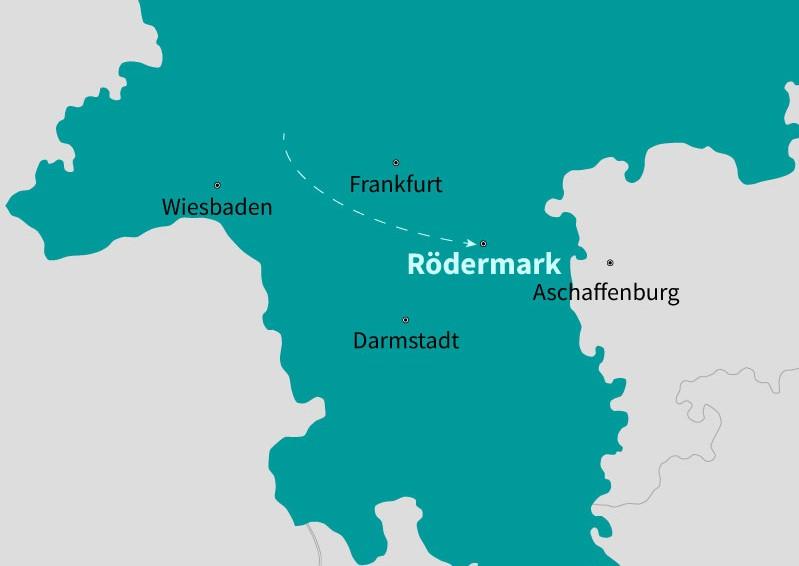 Unser Standort - Rödermark