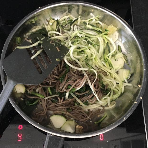 Kochen in der Mittagspause