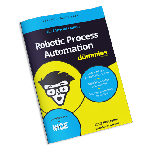 "eBook ""Robotic Process Automation for Dummies"""