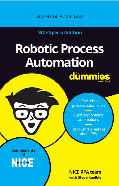 eBook RPA For Dummies