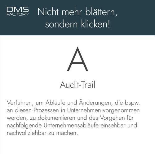 Glossar: Audit-Trail