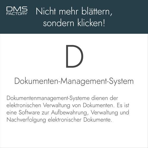 Glossar: DMS
