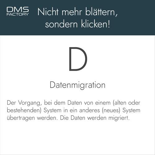 Glossar: Datenmigration