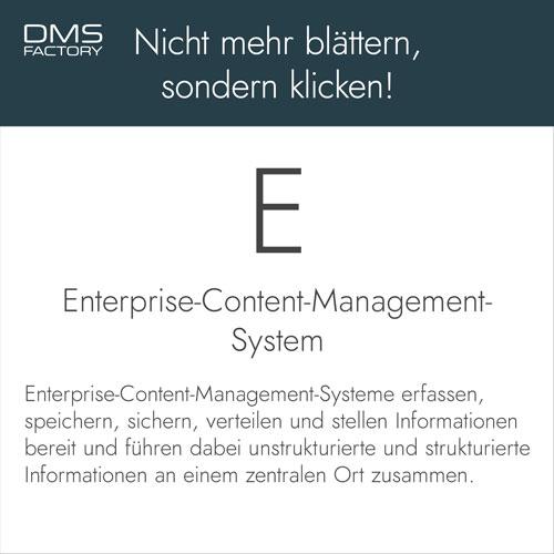 Glossar: ECM