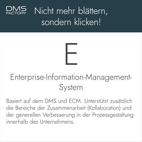 Glossar: Enterprise-Information-Management