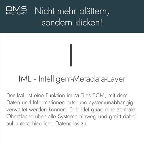 Glossar: Intelligent Metadata Layer