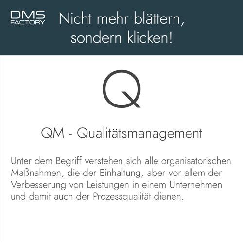 Glossar: Qualitätsmanagement