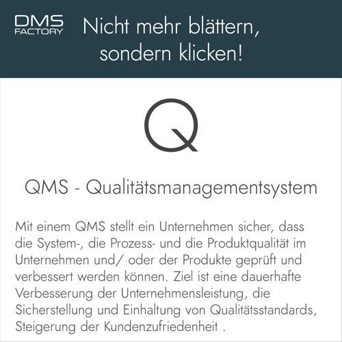 Glossar: Qualitätsmanagementsystem