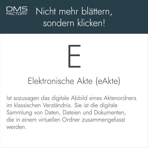 Glossar: elektronische Akte