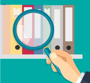 Kosten der Suche nach Unterlagen