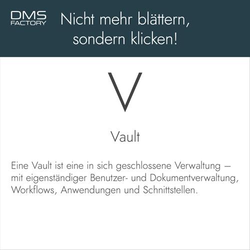 Glossar: Vault