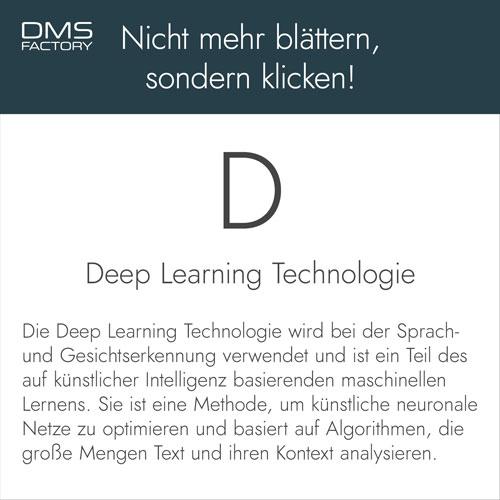 Glossar: Deep Learning Technologie
