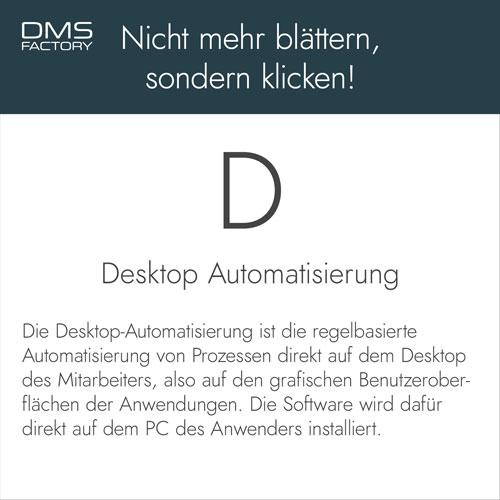 Glossar: Desktop Automatisierung