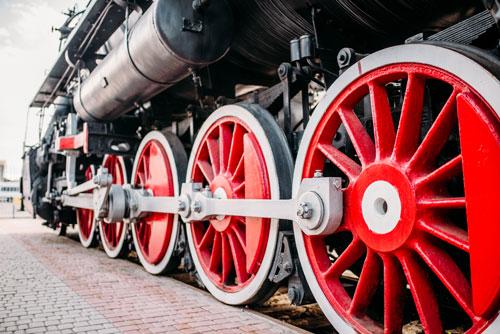 Erfindung Eisenbahn
