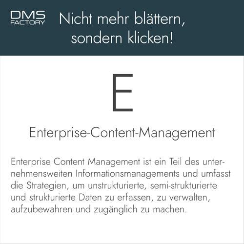 Glossar: Enterprise Content Management