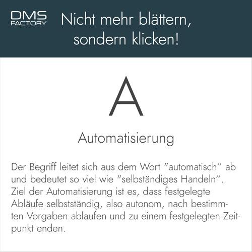 Glossar: Automatisierung