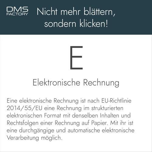 Glossar: Elektronische Rechnung