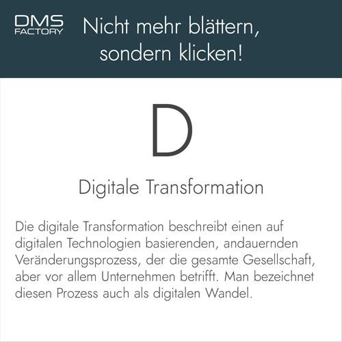 Glossar: Digitale Transformation