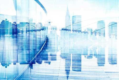Vernetzte Informationen bei Immobilienunternehmen