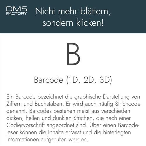 Barcode - Glossar