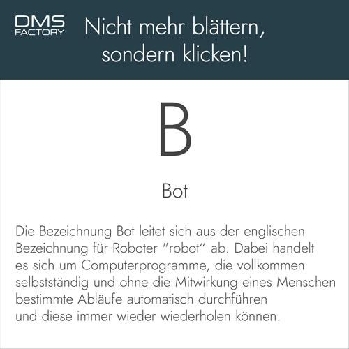 Bot - Glossar