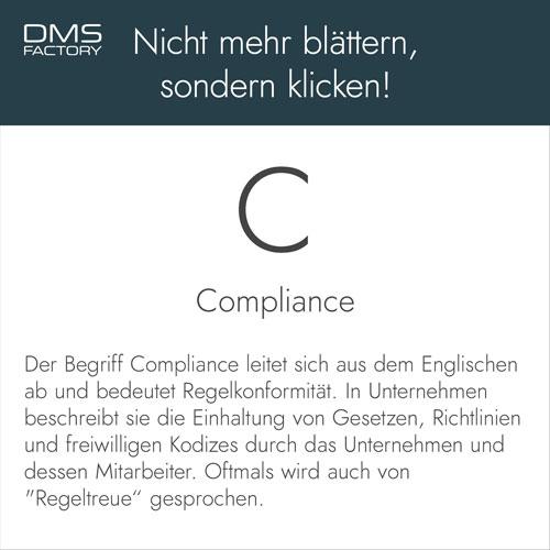 Compliance - Glossar