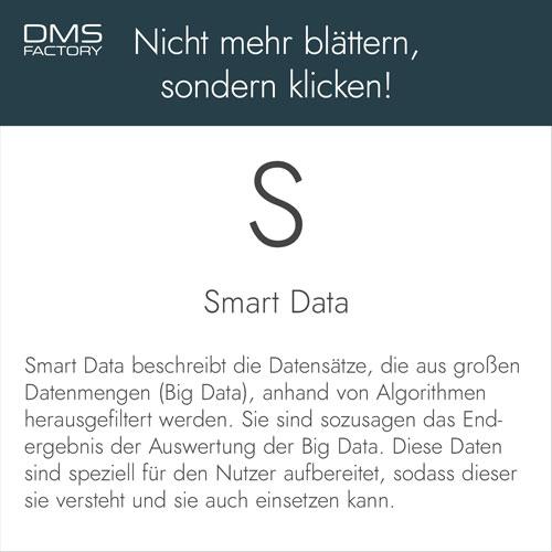Glossar: Smart Data