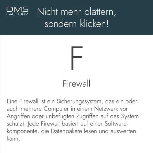 Glossar: Firewall
