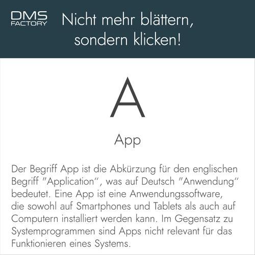Glossar: App
