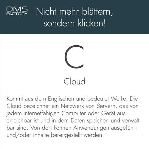 Glossar: Cloud