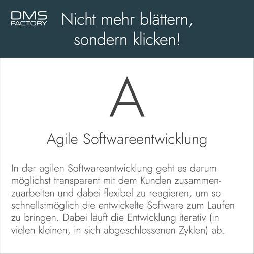 Glossar: Agile Softwareentwicklung