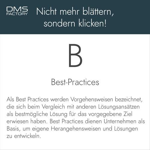 Glossar: Best Practices
