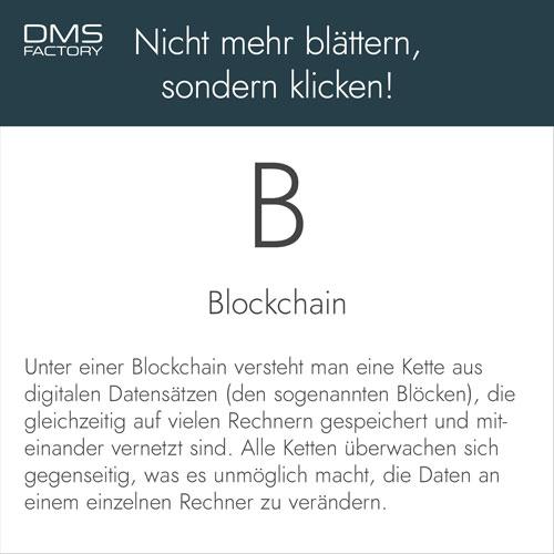 Glossar: Blockchain