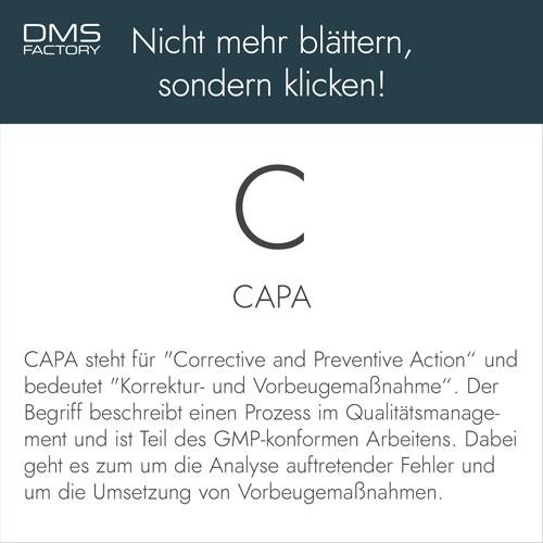 Glossar: CAPA