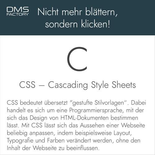 Glossar: CSS