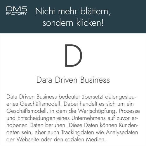 Glossar: Data Driven Business