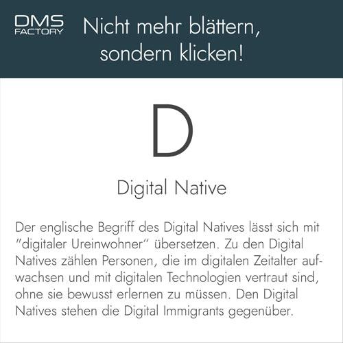 Glossar: Digital Native