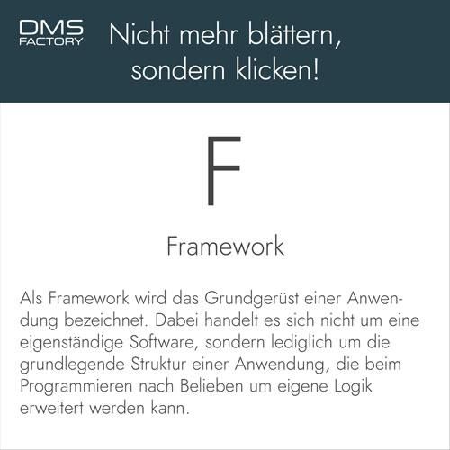Glossar: Framework
