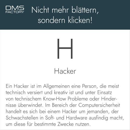 Glossar: Hacker