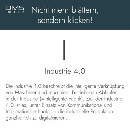 Glossar: Industrie 4.0