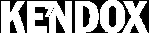 Kendox-Logo - weiß